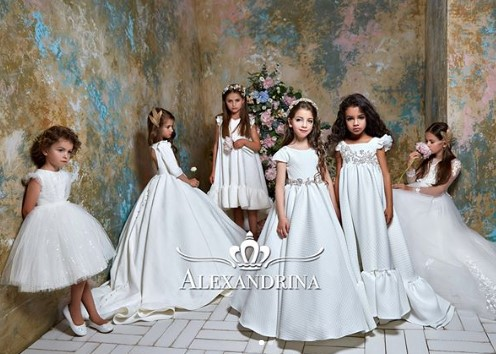 a6d8f874804 Luxury flower dresses for little princesses for a wedding
