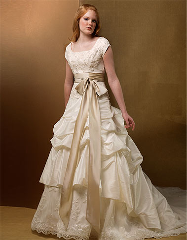 Provo Utah Temple Wedding Dresses