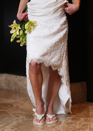 611b45f64e12 Bridal Flip Flops